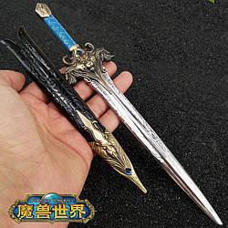 Меч в ножнах Короля Ллейна World of Warcraft Alliance по версии фильма 30 см в подарочной упаковке