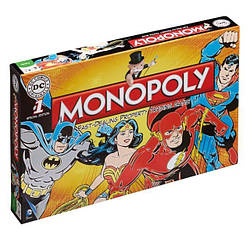 Монополия настольная играMonopoly Game DC Comics Retro ДС Комикс Ретро DCR28.03