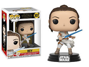 Фигурка Funko Pop Фанко Поп РейЗвёздные войныStar Wars The Rise of Skywalker Rey 10 см SW R307