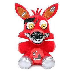 М'яка іграшка П'ять ночей з Фредді кошмарні аніматроніки Фоксі Foxy 25 см FNAF48-53
