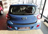 Накладка заднего бампера Hyundai i10 II 2013>