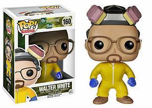 Фигурка Funko Pop Фанко Поп Теория Большого взрыва Уолтер Уайт Walter White 10 cм Serial BB WW 160