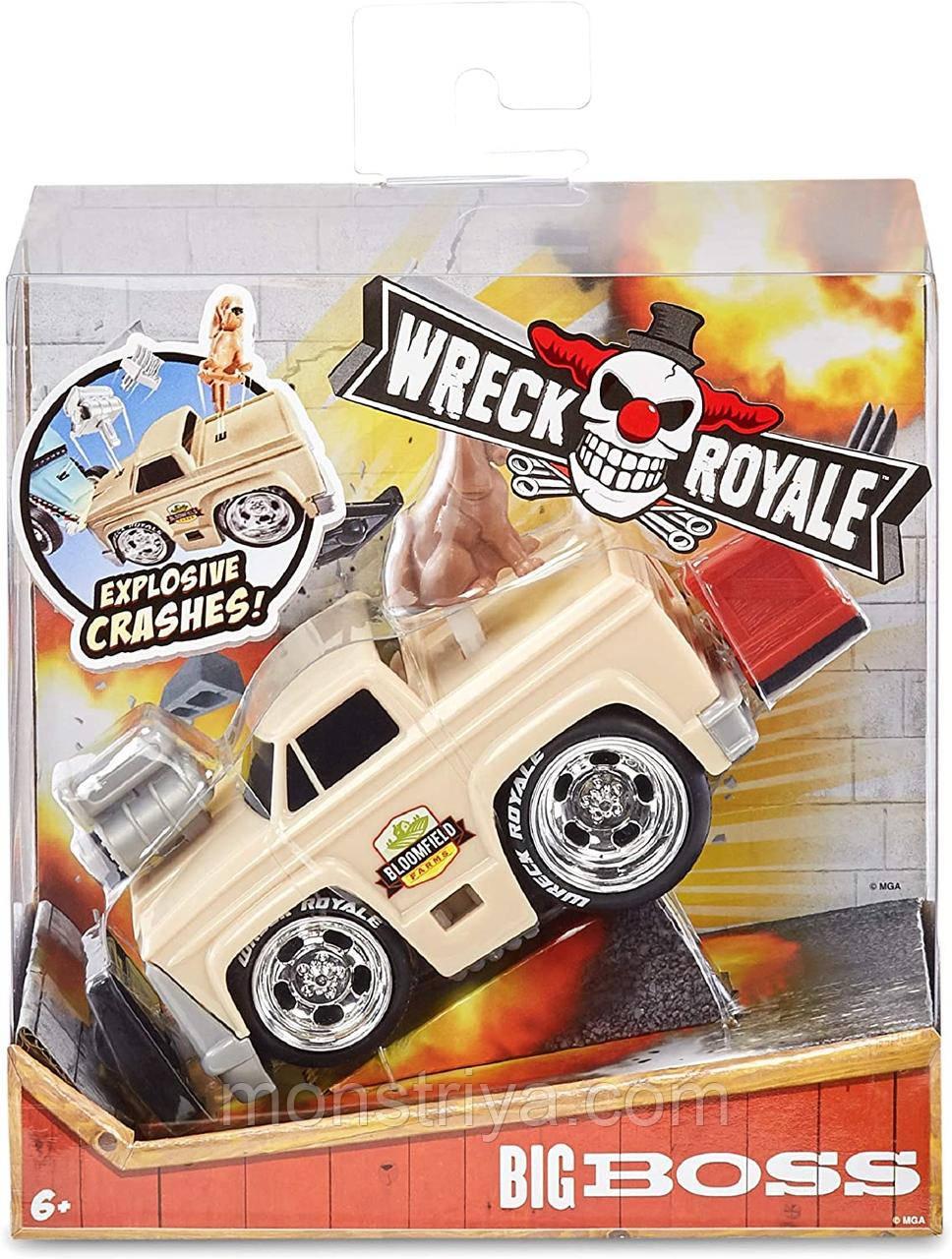 Машинка Wreck Royale Великий Бос/ Big Boss
