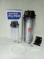 """Фильтр-колба 1/2"""" механической очисткой Water Quality( с картриджем)"""