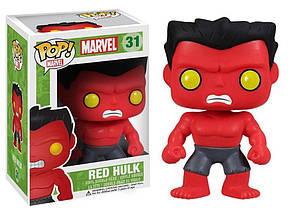 Фигурка Халк Red Hulk Funko Pop MARVEL  hulk 31