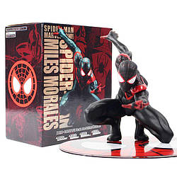 Фигурка Spider-man Miles Morales Человек паук Майлз Моралес 11см SM 10.059