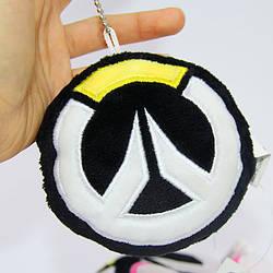 Мягкая игрушка брелок Овервотч Overwatch Logo