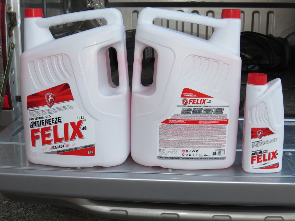 Антифриз Felix Carbox G12 красный