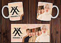 "Чашка ""Monsta X"" / Кружка Монста Икс №1"