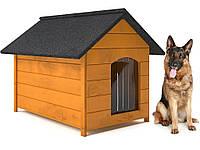 Будка для собаки из дерева, собачья будка Dog Comfort ХL - 104 х 74 х 90 см