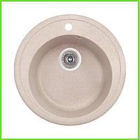 Кухонная гранитная мойка Formini ( диаметр 500 )