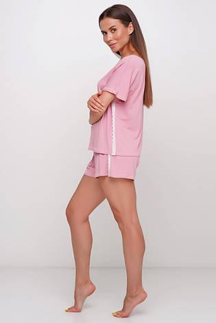 Вискозная  пижама шорты и футборка TM Orli, фото 2