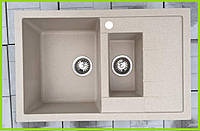 Кухонная гранитная мойка Formini 765/500
