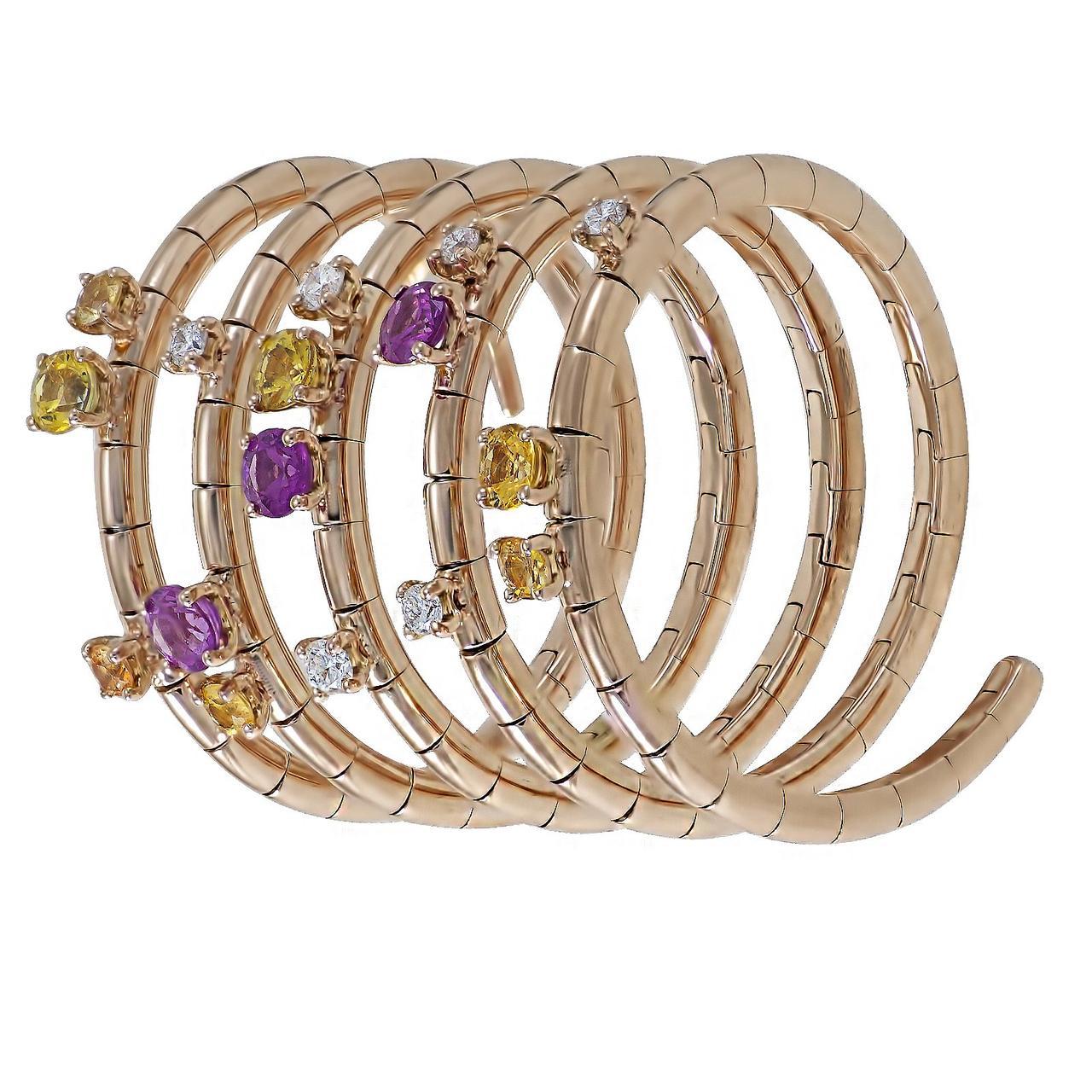 Золотое кольцо с бриллиантами и сапфирами, размер 17 (1723982)