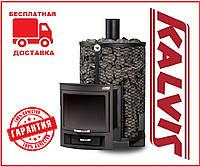 Банная печь-камин Kalvis PR5-1 12 кВт