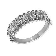 Золотое кольцо с бриллиантами, размер 17 (1627667)