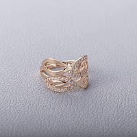 Кольцо золотое женское с фианитами КП1665