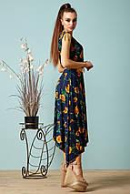 Женское летнее платье с асимметричным подолом (1375-1374 svt), фото 3