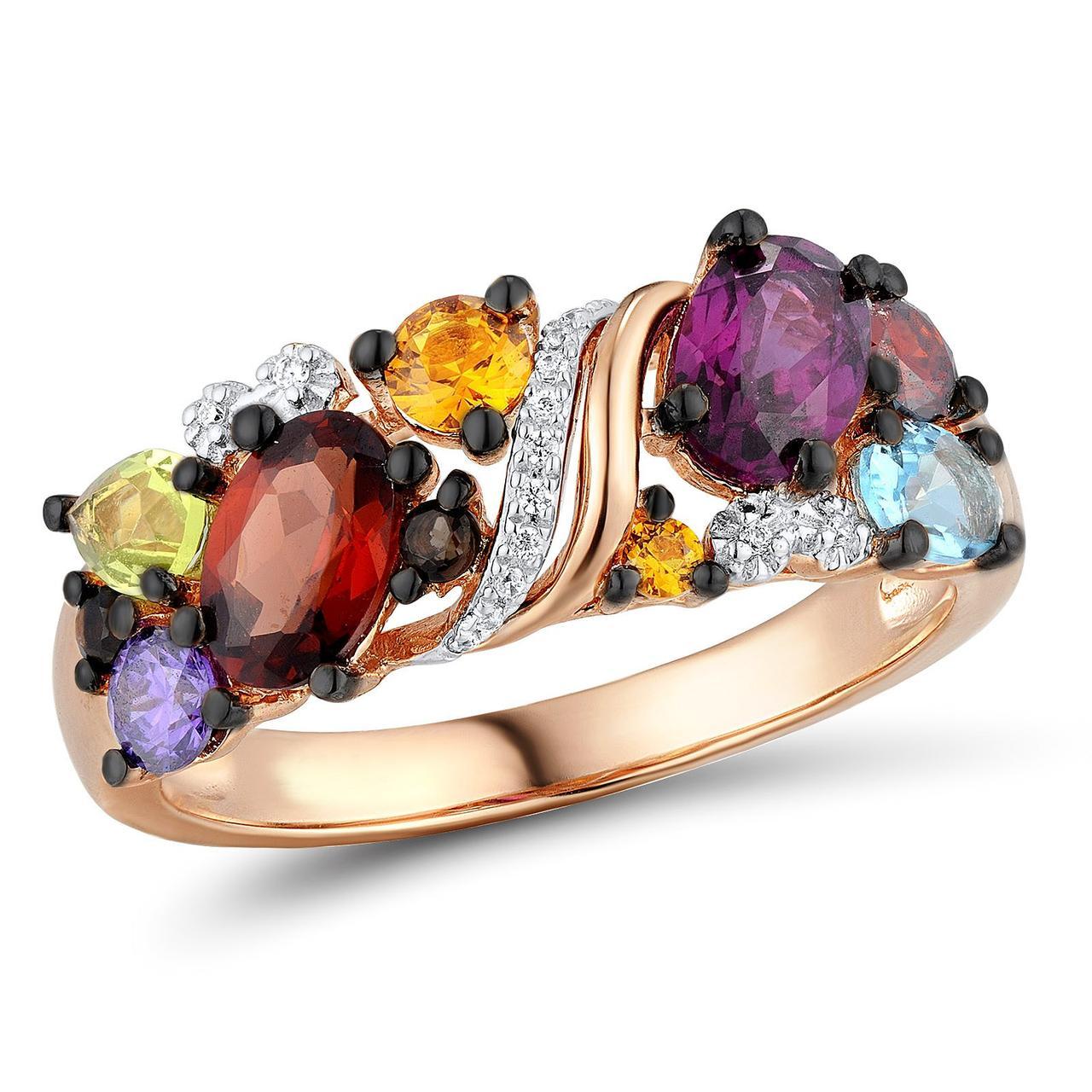 Золотое кольцо, размер 16.5 (1624789)