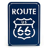 Упор для книг Glozis Route 66 G-031 15 х 10 см КОД: G-031