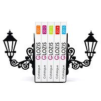 Упоры для книг Glozis Lamppost G-013 30 х 20 см КОД: G-013
