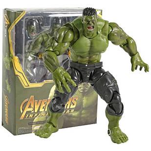 Фигурка Bandai Халк Мстители ВойнаБесконечностиAvengers Infinity War Hulk SHF 21 смHulk AIW