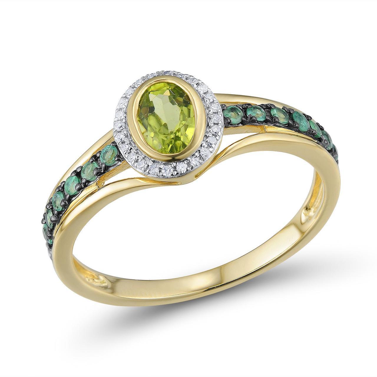 Золотое кольцо, размер 17 (1624287)