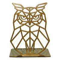 Упор для книг Glozis Owl G-034 15 х 12 см КОД: G-034