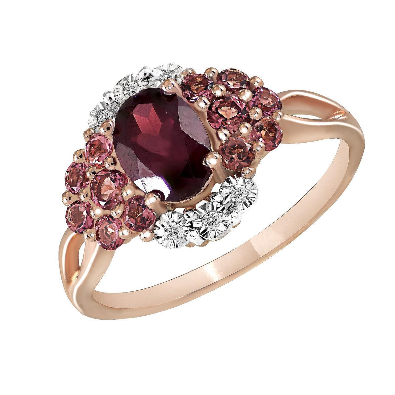 Золотое кольцо, размер 16.5 (825860)