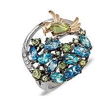Серебряное кольцо, размер 18 (032538)
