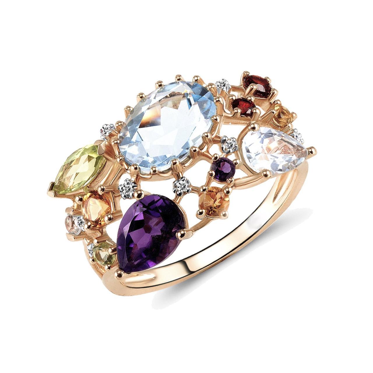 Золотое кольцо, размер 17 (1550944)