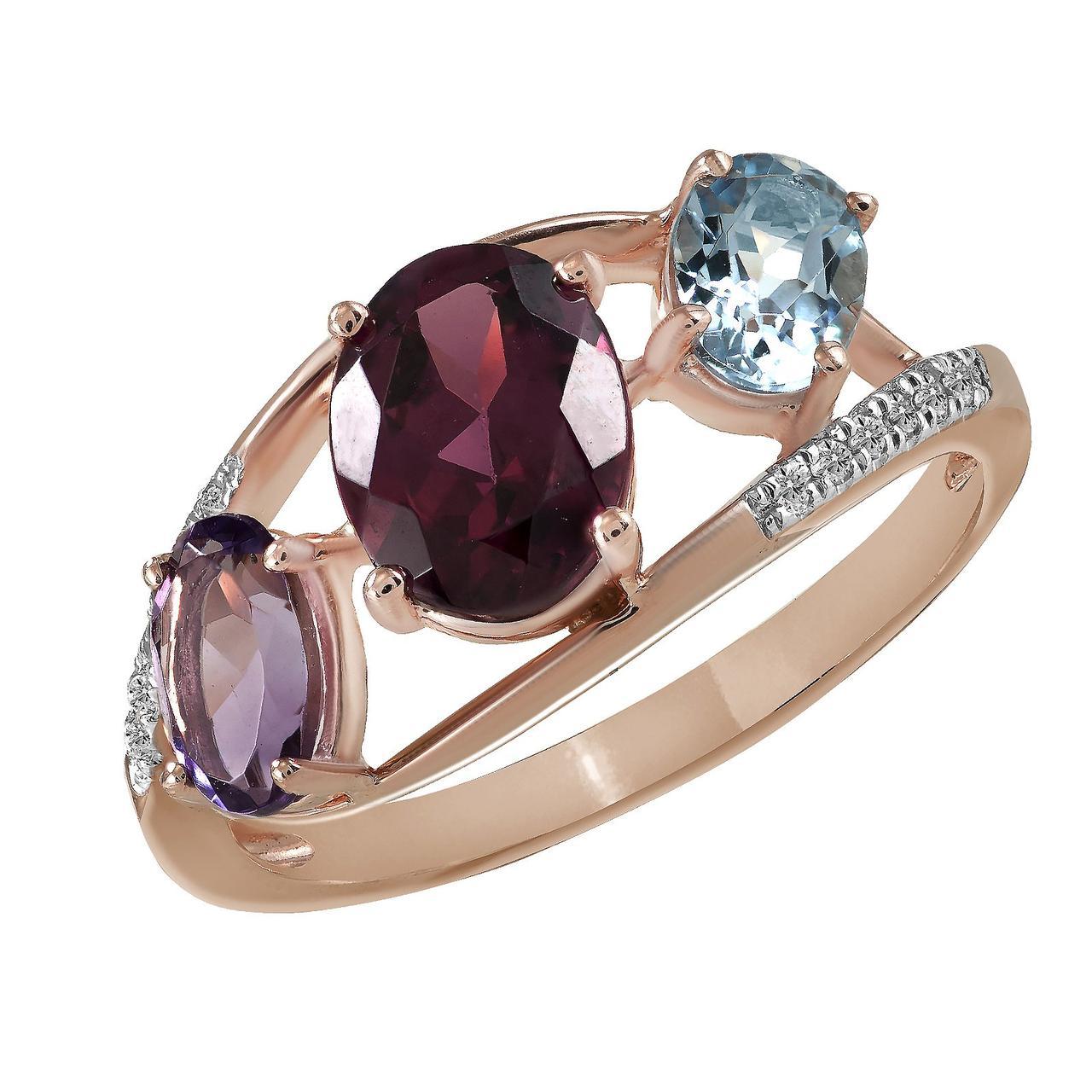 Золотое кольцо, размер 17 (828853)