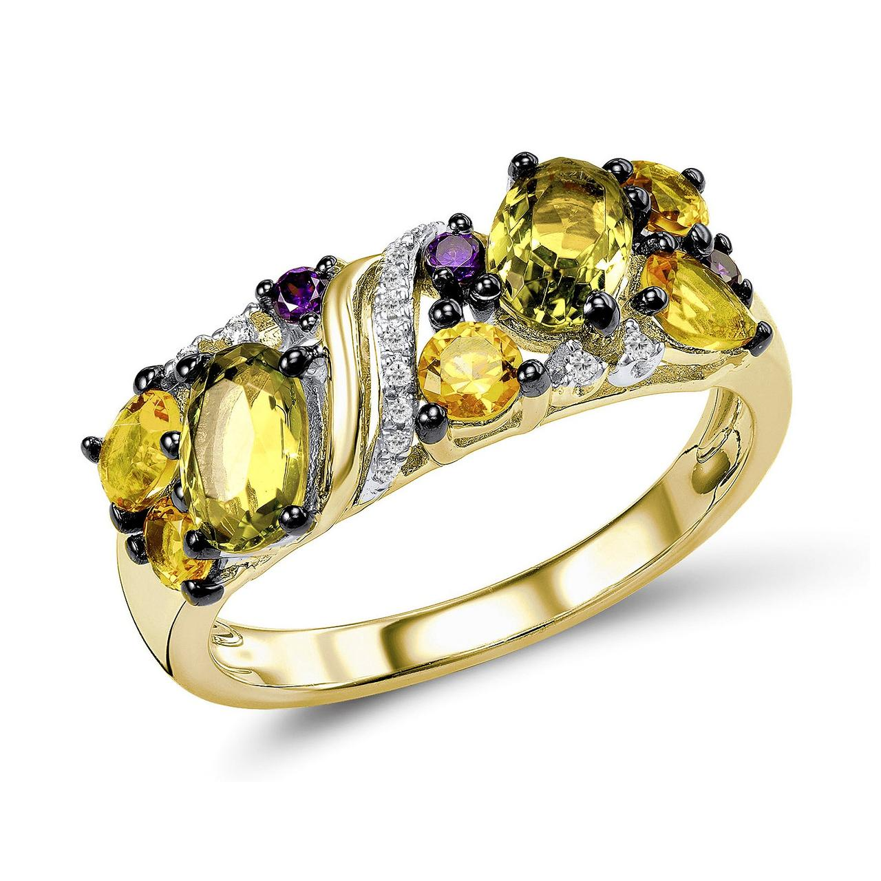 Золотое кольцо, размер 16.5 (1603995)