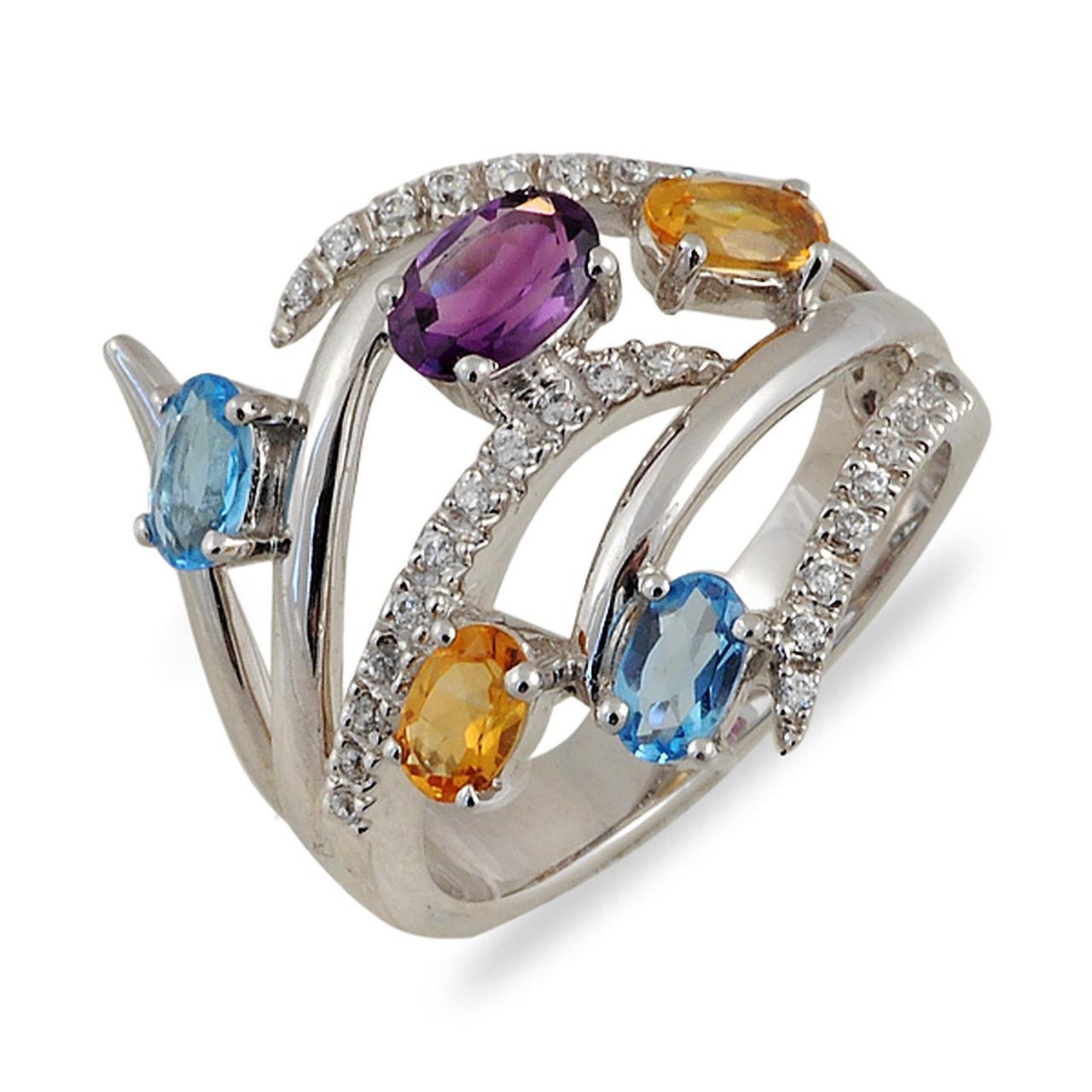 Золотое кольцо, размер 17.5 (012198)
