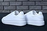 Жіночі кросівки Alexander McQueen в стилі олександр маккуїн БІЛІ (Репліка ААА+), фото 3