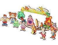 Деревянный конструктор Woody - Детский театр