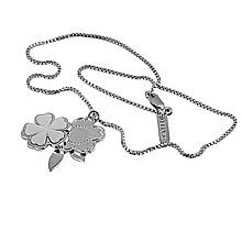 Колье из серебра, размер 35 (029834)
