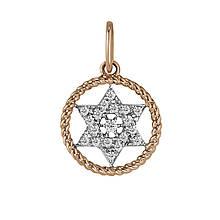 Кулон из золота с бриллиантами (1612193)