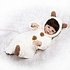 Кукла реборн вилиновая  Reborn. (14885)
