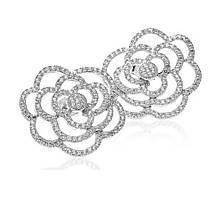 Сережки зі срібла з куб. цирконіями (073509)