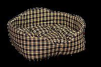Лежак для домашних животных Мур-Мяу Элегант-2 Коричневый  КОД: hub_qAPe08891