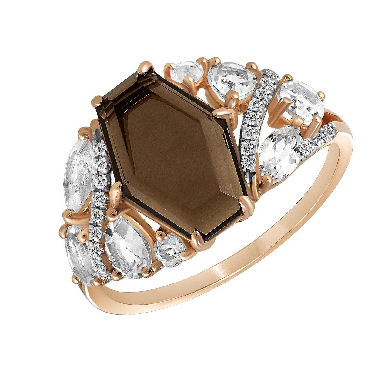 Золотое кольцо, размер 16.5 (877583)