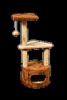 Домик-когтеточка Мур-Мяу Мечта Коричнево-бежевый  КОД: hub_ILad76761