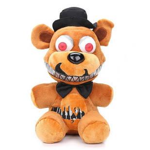 Мягкая игрушка Пять ночей с Фредди кошмарные аниматроники Фредди Freddy 25 см FNAF48-52
