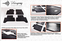 Lexus GX460 резиновые коврики Stingray Premium