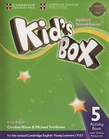 KID'S BOX UPDATED 2ND EDITION 5 ACTIVITY BOOK WITH ONLINE RESOURCES