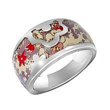 Серебряное кольцо, размер 15 (059998)