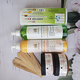 Набор для шугаринга максимальный SkinLoveSpa Комбинированный с пастой 700 мл  КОД: 753269