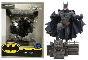 Диорама Diamond Select Dc Comic Gallery Бэтмен на крыше Готэм-сити25см  statue B 10.59