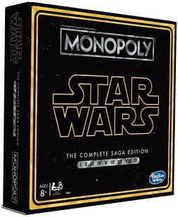 Настольная игра HasbroМонополия Звёздные войныStar Wars Saga Edition Monopoly Gamemonopoly SW